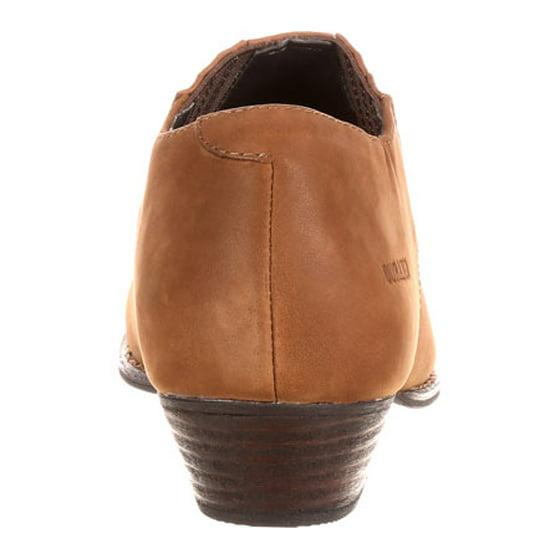 b6dcd6689 Durango - Durango Western Shoes Womens Crush Slip On Shooties Brown DRD0132  - Walmart.com