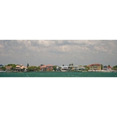 View toward Cabbage Key from St Petersburg in Tampa Bay Area Tampa Bay Florida USA Poster