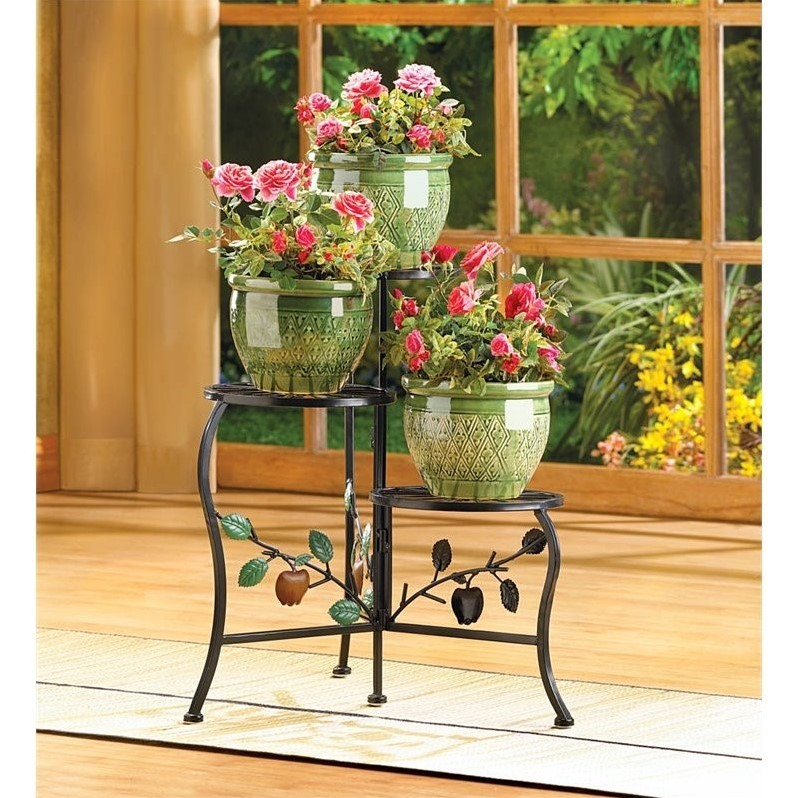 Zingz and Thingz Country Apple Plant Stand by Zingz & Thingz
