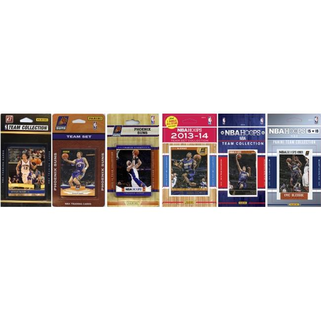 C&I Collectables NBA Phoenix Suns 6 Different Licensed Trading Card Team Sets
