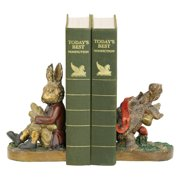 Elk Lighting Tortoise and Hare Bookends
