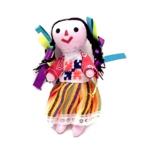 "Leos Imports Mexican Rag Doll 5""-6"" Tall"