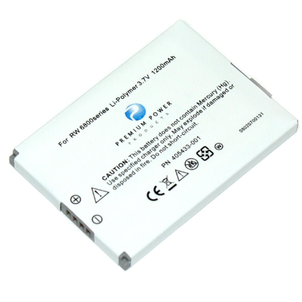 Replacement Battery Compatible With HP XP02, HSTNHF10B, 405433001, XP-02, HSTNH-F10B, FA764AA, 405433-001 For Use In HP iPAQ rw6800