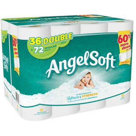 Angel Soft Toilet Paper 36 Double Rolls Best Toilet Paper