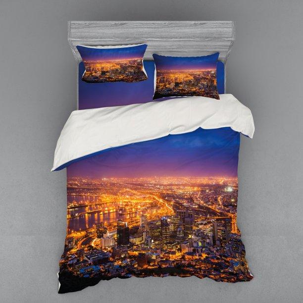 City Duvet Cover Set Cape Town, Twilight Bedding Set