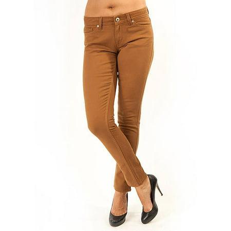 Jordache - Women's Colored Skinny Jeans - Walmart.com