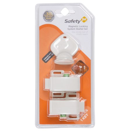 Safety 1st Magnetic Locking System Starter Set (2 locks, 1 key),