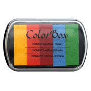 ColorBox Pigment Ink Pad 5 Color Primary