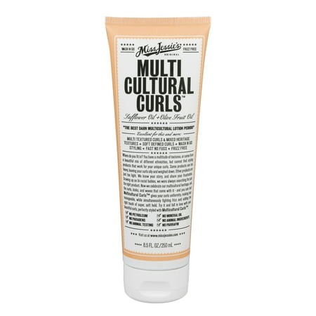 Miss Jessie's Original Multi Cultural Curls Hair Styling , 8.5 fl (S Curl For Women With Short Hair)