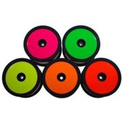 De Racing SD1Y Wheel Sticker Disk For 1/10 Buggy / Fluorescent Yellow DERSD1Y