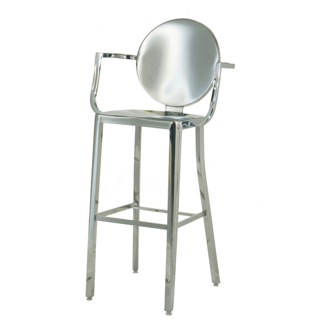 Occ King Bar Height Stool 30 Inch With Arms Arm Chair