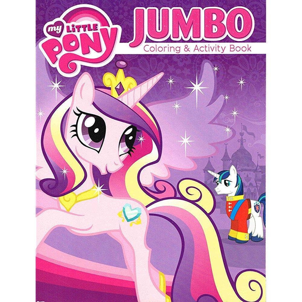 - My Little Pony Coloring And Activity Book Set - Featuring Princess Cadence  - (2 Books ~ 96 Pgs Each) - Walmart.com - Walmart.com