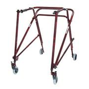 Nimbo Rehab Lightweight Posterior Posture Walker-Option:Adult - Flame Red