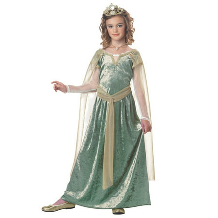 Child Queen Guinevere Costume - Lady Guinevere
