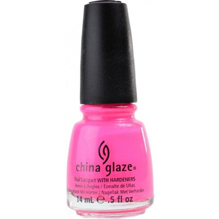 China Glaze Nail Polish, Pink Voltage, 0.5 oz