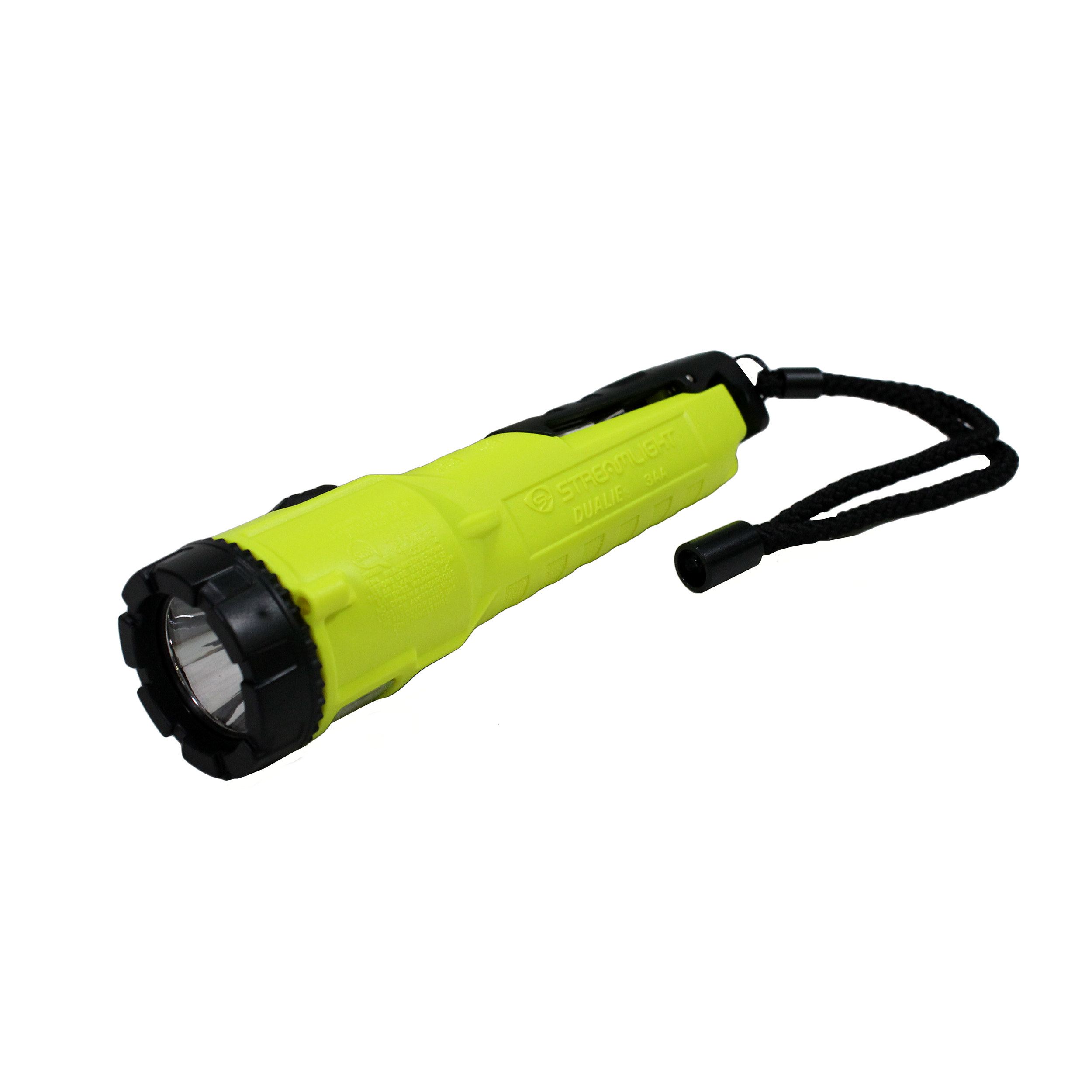 Streamlight 68782 Dualie 3AA with alkaline batteries, Magnetic clip and lanyard by Streamlight