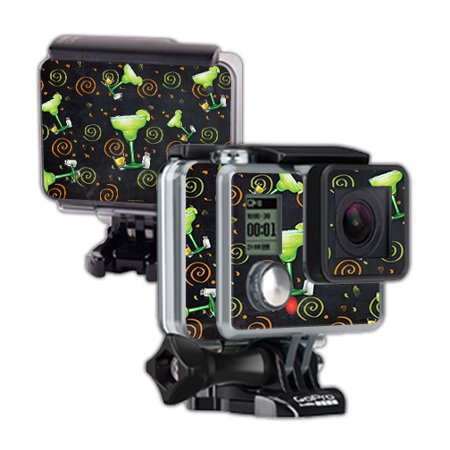 Gopro Halloween Party (Skin For GoPro Hero – Marg Party | MightySkins Protective, Durable, and Unique Vinyl Decal wrap cover | Easy To Apply, Remove, and Change Styles | Made in the)