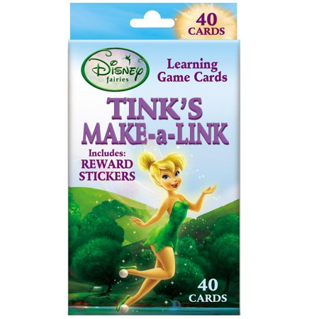 Disney Tinker Bell Make-A-Link Addition & Counting Educational 40pc Card Game - Tinkerbell Christmas Cards
