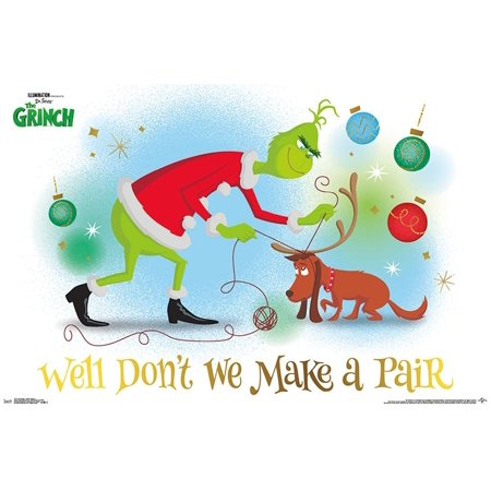 Grinch Poster (The Grinch - Warm Hearted Poster)
