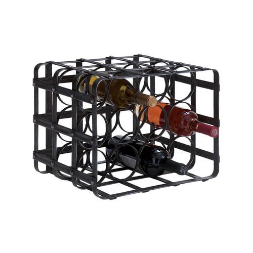Woodland Imports 12 Bottle Tabletop Wine Rack by Woodland Imports