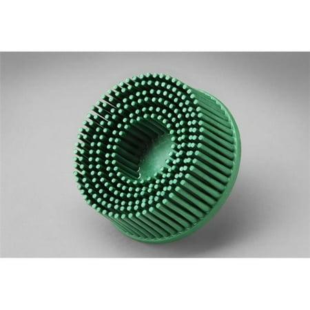 3m 2' Radial Bristle Discs - 3M 18698 Scotch-Brite Ceramic RD-ZB Bristle Disc, Coarse Grade, 5/8 Inch Center Hole