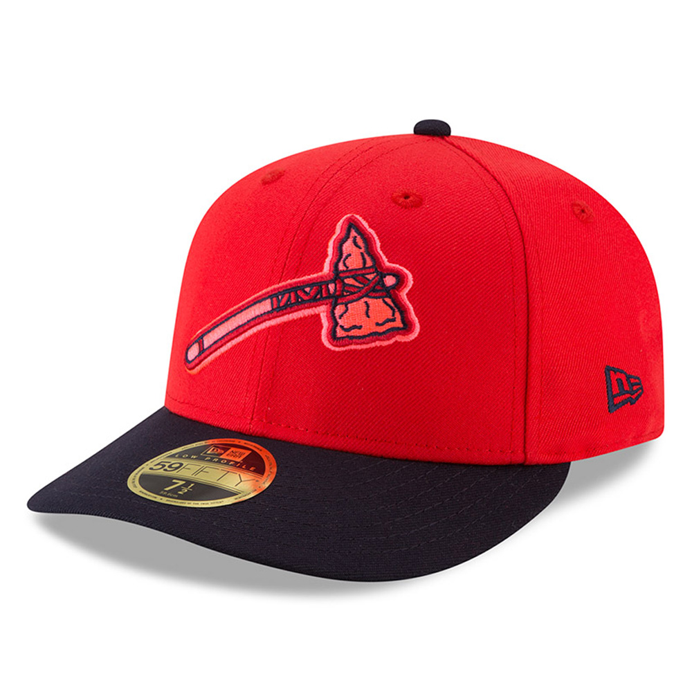 Atlanta Braves New Era 2018 Players' Weekend Low Profile 59FIFTY Fitted Hat - Red/Navy