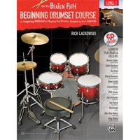 Alfred 00-33245 On the Beaten Path- Beginning Drumset Course- Level 1 - Music Book