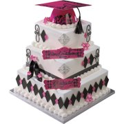 Keys to Success Cake Decorations, Pink