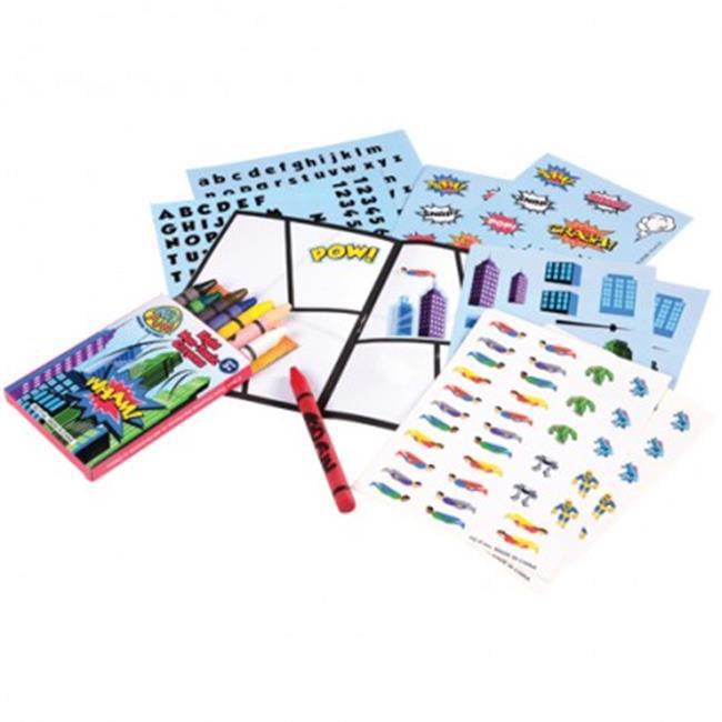 USToy MX510X4 12 Piece Draw Your Own Comic Set - 12 per P...