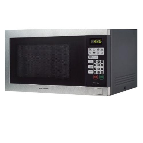 Emerson Stainless Steel Microwave by EMERSON