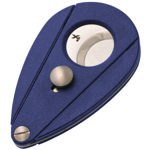 Xikar Xi2 Double Blade Cigar Cutter in Lapis Blue