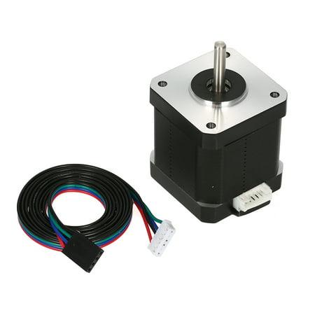 1PCS 17HS8401S 48mm Nema 17 Stepper Motor 42 Motor 42BYGH 1.8A 52N.cm 4- for 3D Printer CNC with DuPont line - image 1 of 7