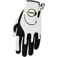 Green Bay Packers Left Hand Golf Glove & Ball Marker Set - White - OSFM