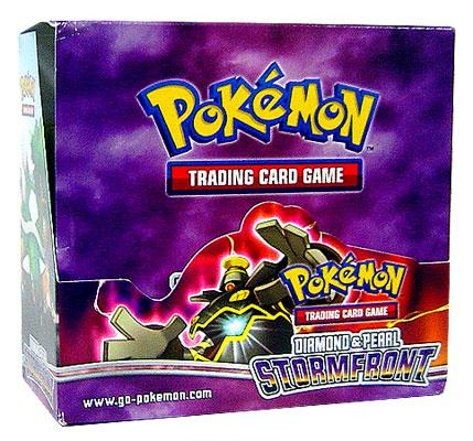 Pokemon Diamond & Pearl Stormfront Booster Box by