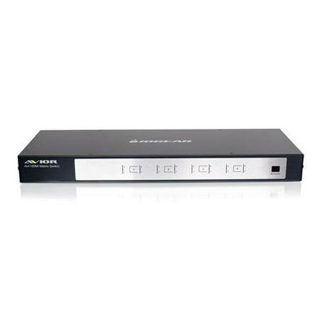 IO GEAR AVIOR-GHMS8044 4X4 HD AUDIO/VIDEO MATRIX SWITCH W/.