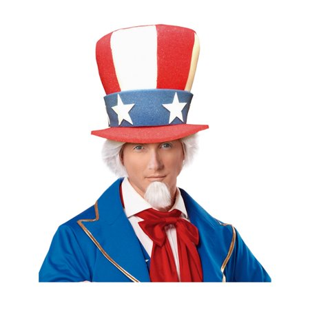 Uncle Sam Adult Top Hat