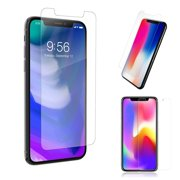 iPhone XR Screen Protector by KIQ 9H 0.30mm Thickness Premium Tempered Glass Shield Anti-Scratch Self-Adhere (Single-Pack)