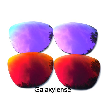 Galaxy Replacement Lenses for Oakley Frogskin Purple & (Frogskins Glasses)