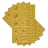 Gartner Studios 68611 Assorted Certificate Seals 60ct