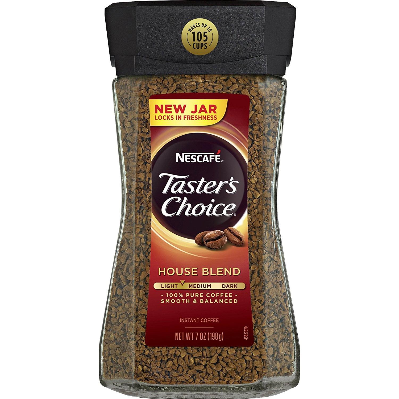 Nestlé Taster's Choice Instant Coffee, House Blend, 7 Ounce