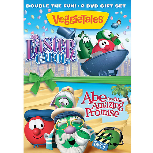 VeggieTales: An Easter Carol / Abe And The Amazing Promise (DVD + Digital Copy) (Walmart Exclusive)