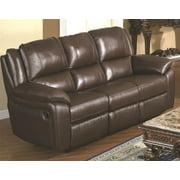 Reclining Sofa in Brown