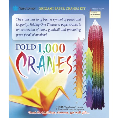 Yasutomo 1,000 Cranes Origami Kit