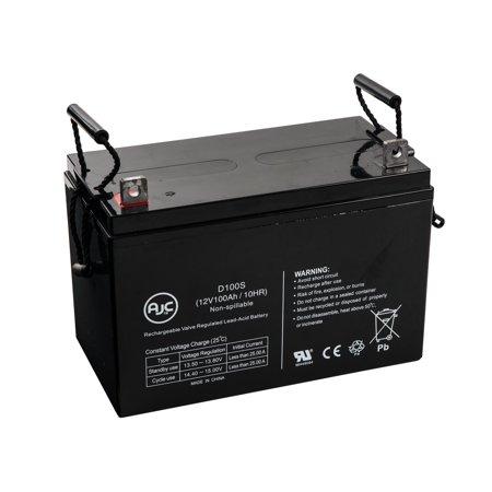 Panasonic LCR12V100AP 12V 100Ah Wheelchair Battery - This is an AJC Brand