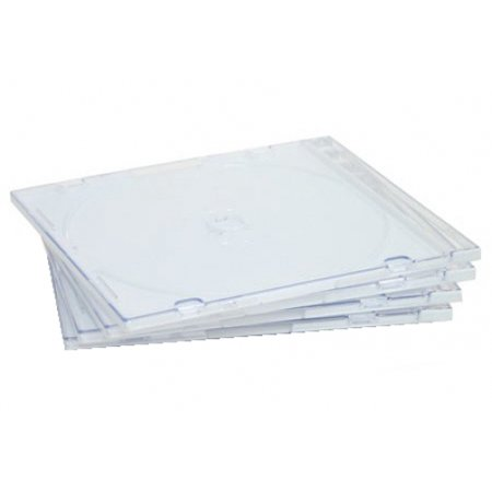 CheckOutStore? 400 SLIM Clear CD Jewel Cases (No Logo) 100 200 400 800 Manual