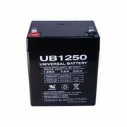 Premium Power UB1250-F2-ER 5 Ah, Sealed Lead Acid Battery