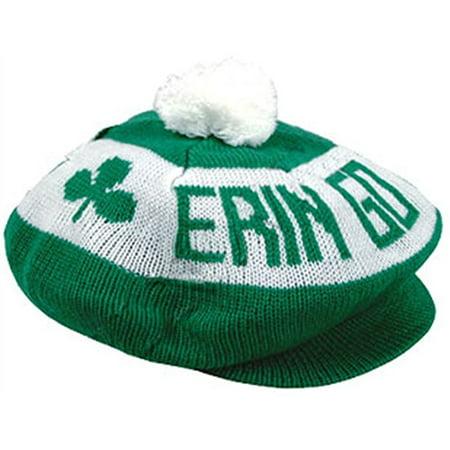 Tam Hat (New St. Patricks Day Erin Go Bragh Braugh Irish Tam)