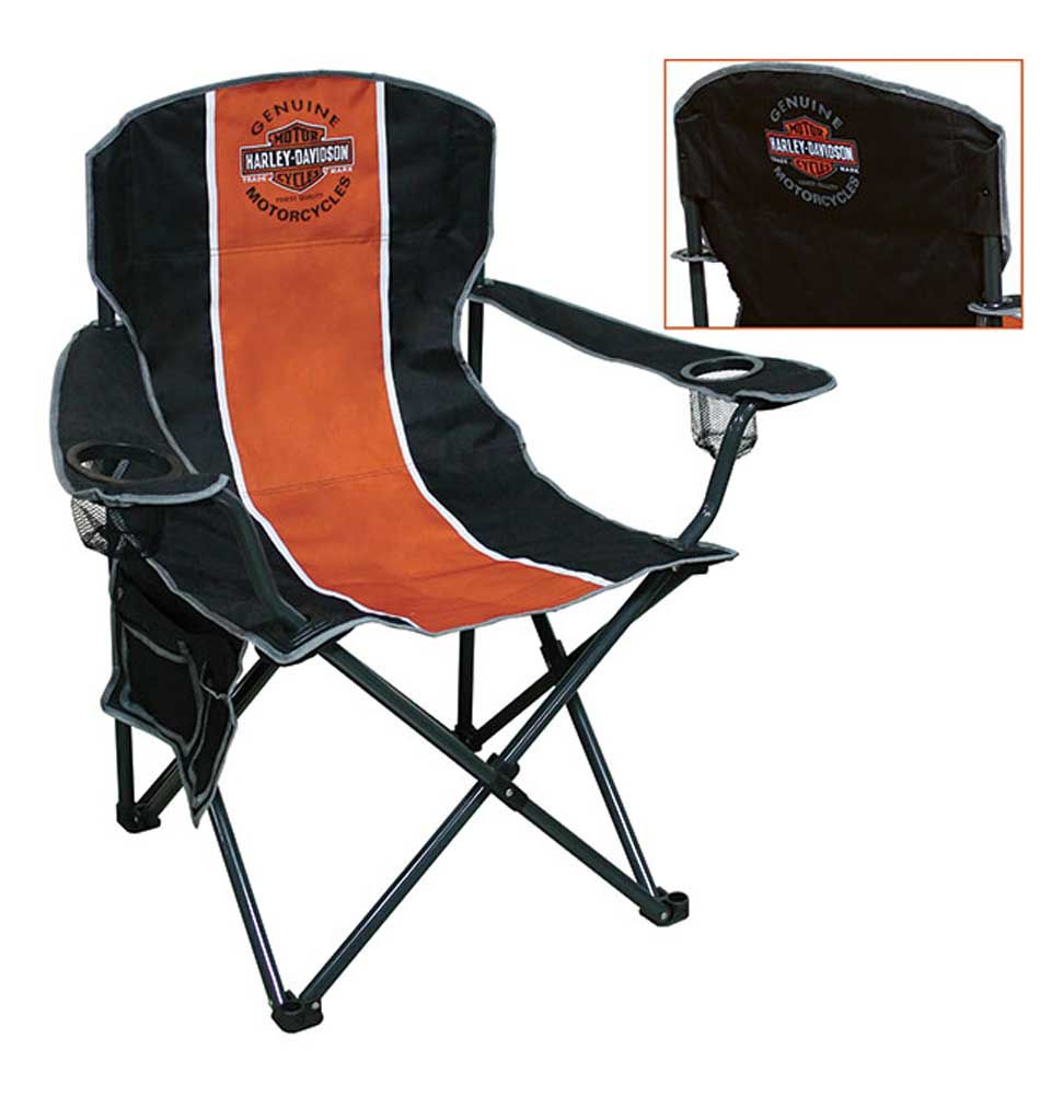 Incredible Harley Davidson Bar Shield Compact Chair X Large Size W Carry Bag Ch31264 Harley Davidson Pabps2019 Chair Design Images Pabps2019Com