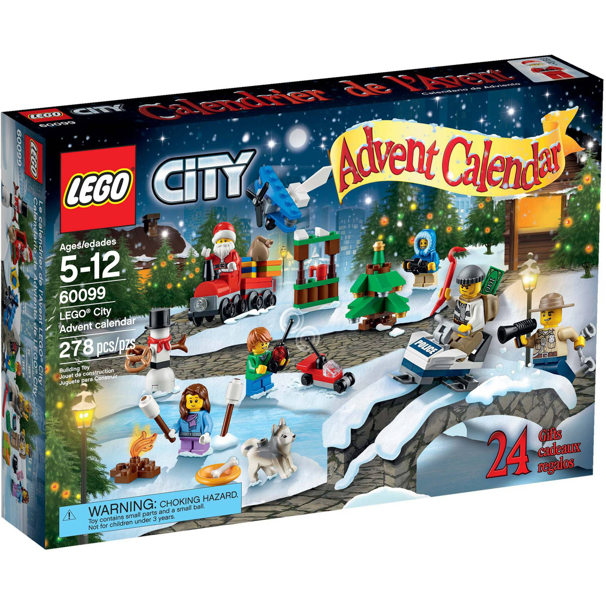 LEGO City Advent Calendar, 60099