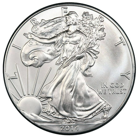Germany Silver Coin - 2014 American Silver Eagle 1 oz Silver Coin